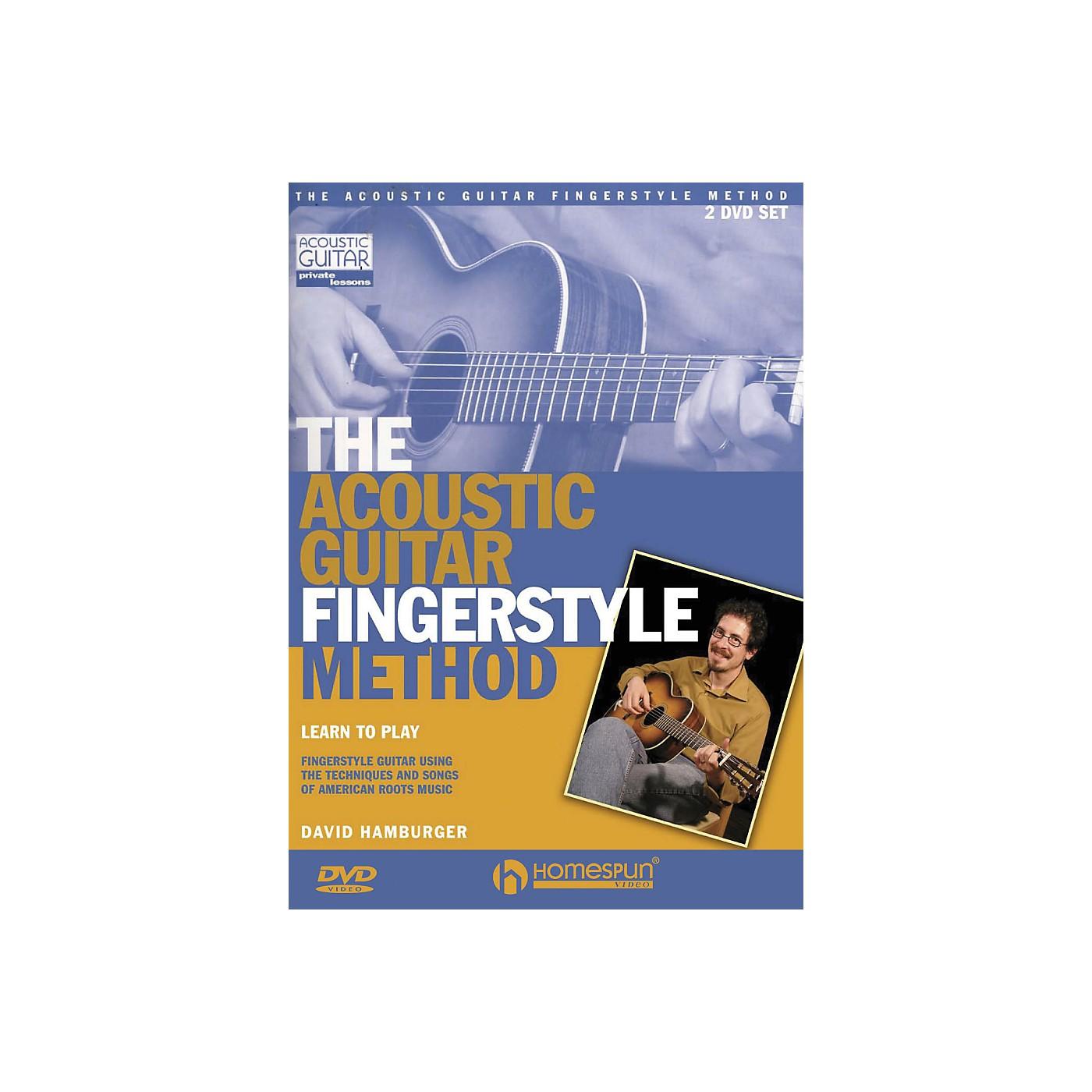 Homespun The Acoustic Guitar Fingerstyle Method 2 DVD Set thumbnail