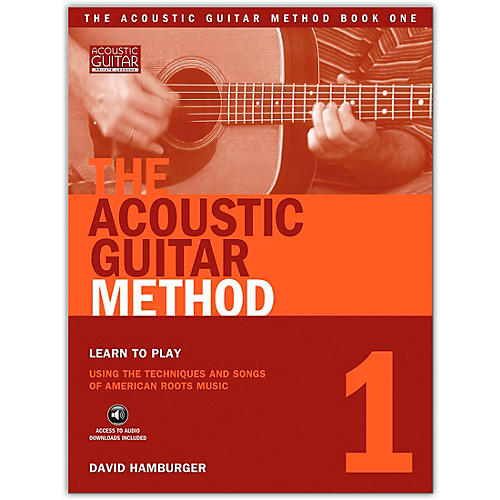 String Letter Publishing The Acoustic Guitar Method 1 (Book/Online Audio) thumbnail