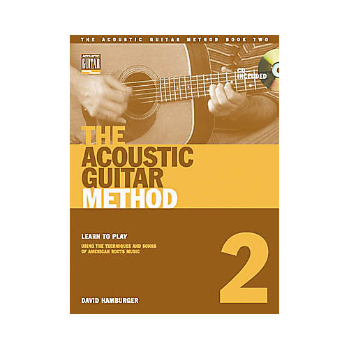 String Letter Publishing The Acoustic Guitar Method 2 (Book/CD) thumbnail