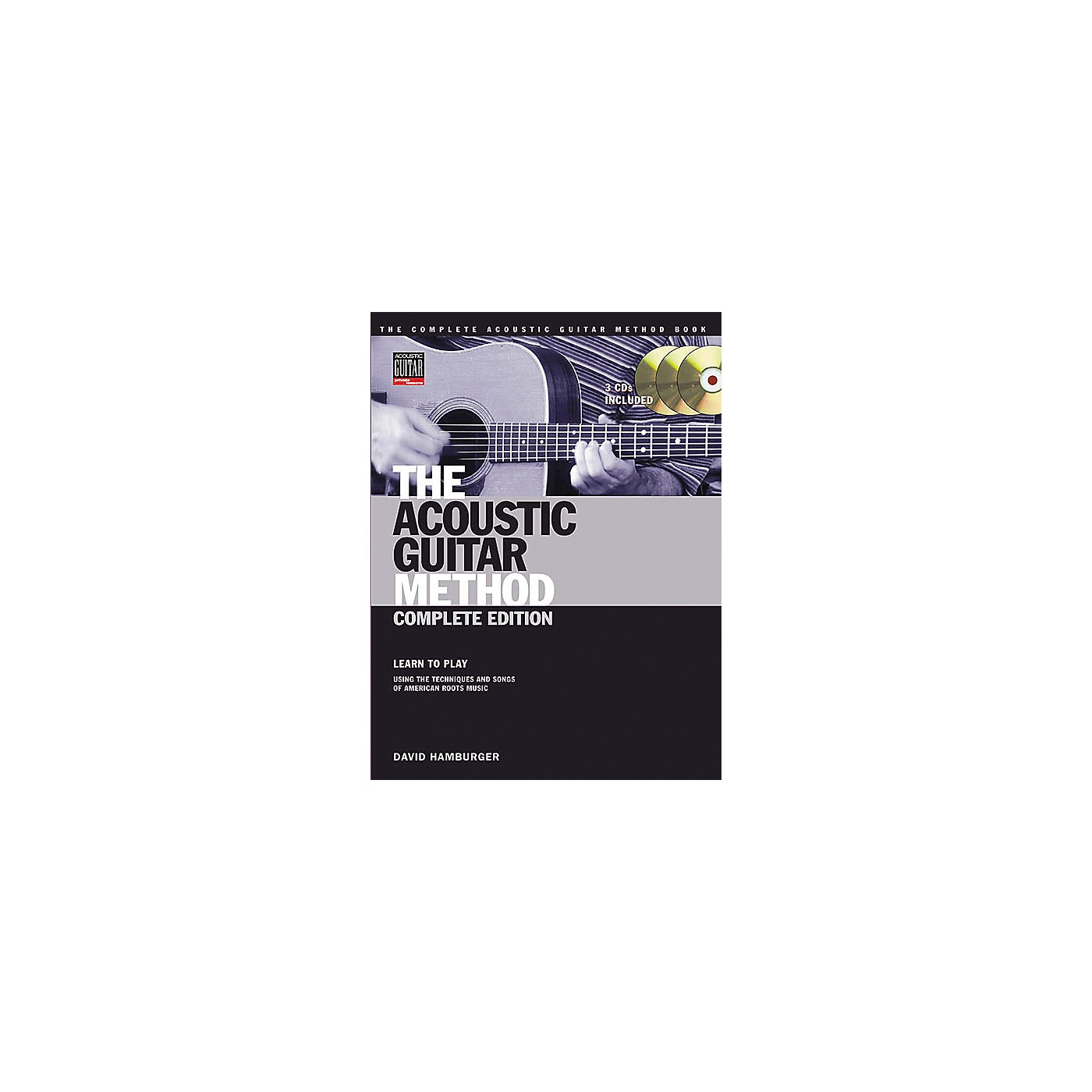 Hal Leonard The Acoustic Guitar Method Book with Online Audio Tracks thumbnail
