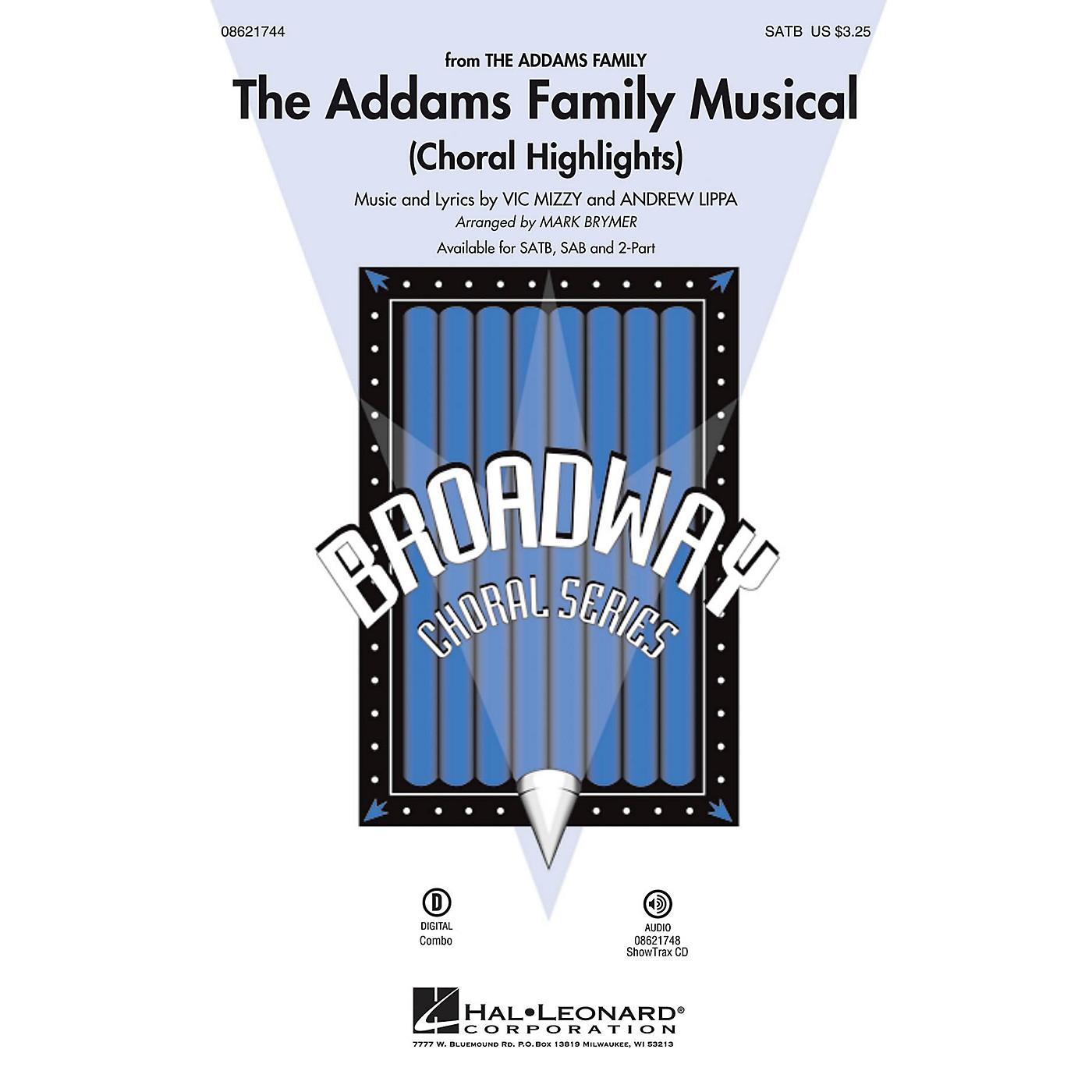 Hal Leonard The Addams Family Musical (Choral Highlights) SAB Arranged by Mark Brymer thumbnail