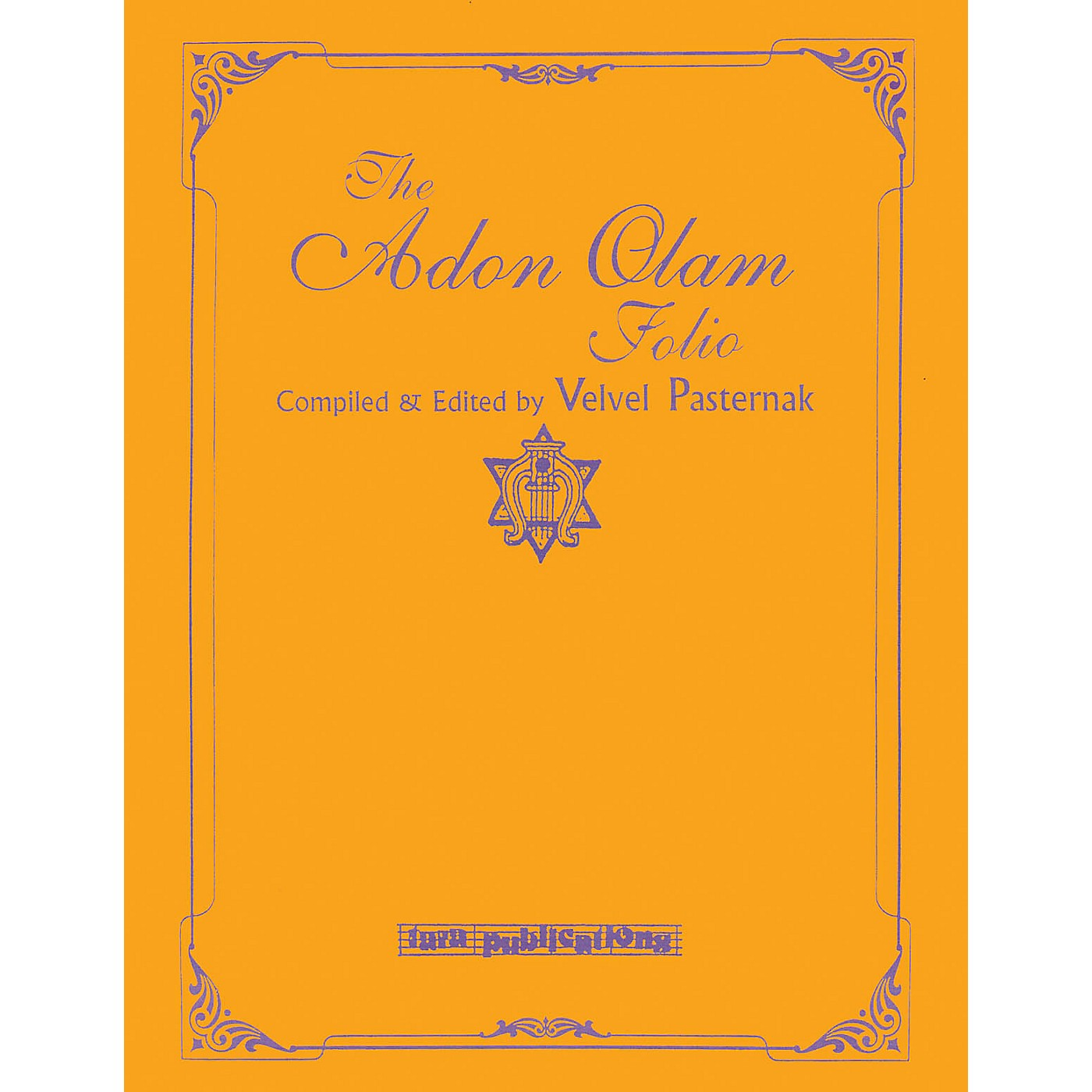 Tara Publications The Adon Olam Folio Tara Books Series Softcover thumbnail