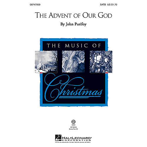 Brookfield The Advent of Our God SATB composed by John Purifoy thumbnail