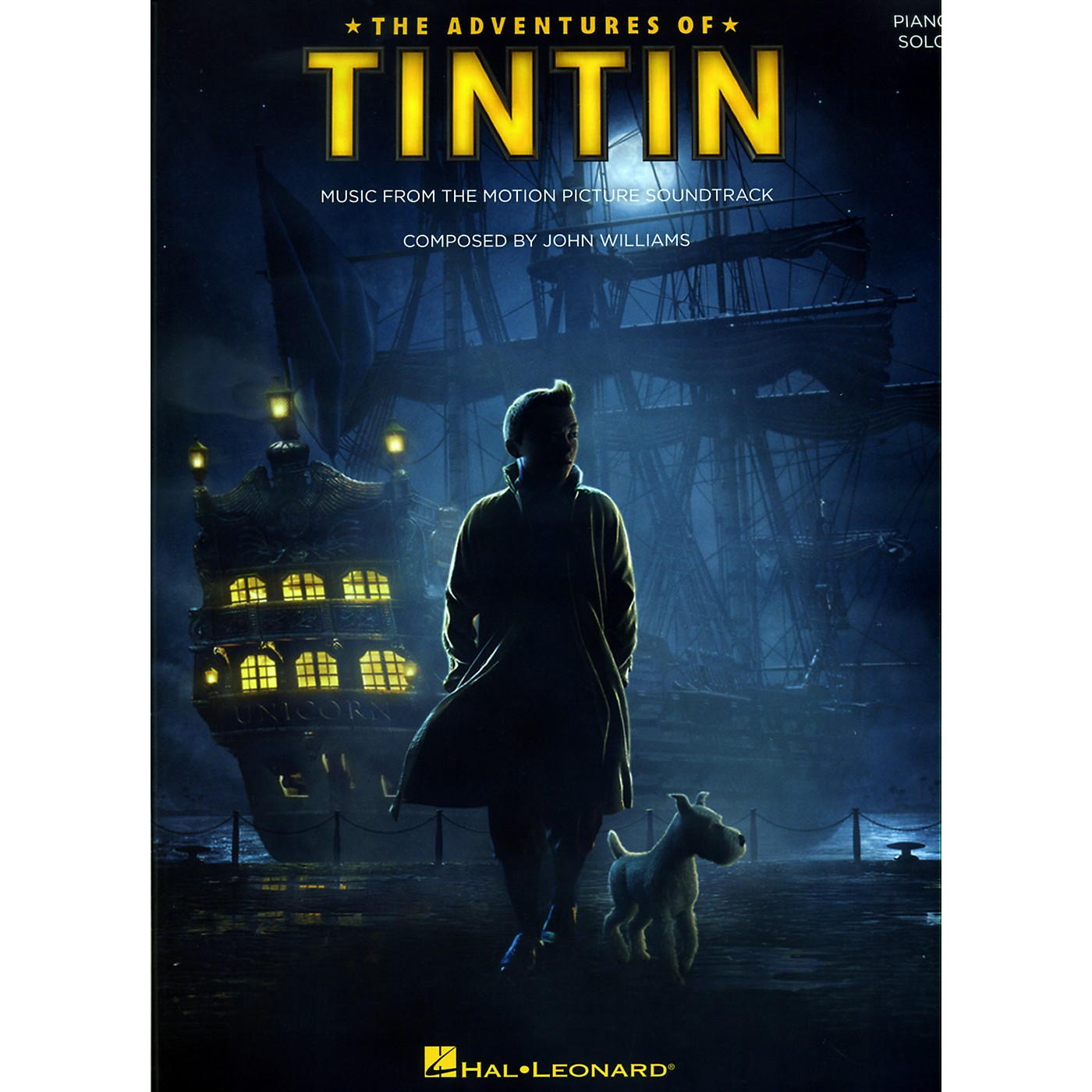 Hal Leonard The Adventures Of Tintin - Music From The Motion Picture Soundtrack for Piano Solo thumbnail