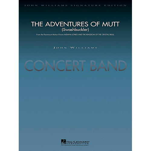 Hal Leonard The Adventures of Mutt (from Indiana Jones & The Kingdom of the Crystal) Concert Band Level 5 by Lavender thumbnail