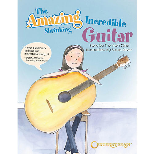 Centerstream Publishing The Amazing Incredible Shrinking Guitar Guitar Series Softcover Written by Thornton Cline thumbnail