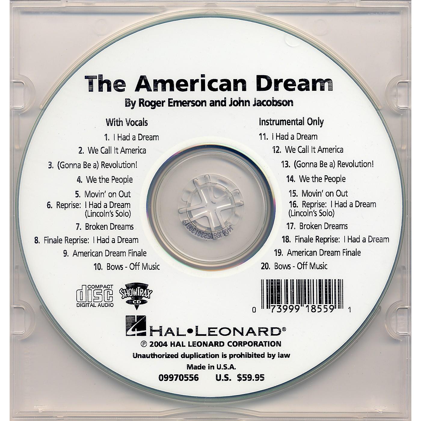 Hal Leonard The American Dream thumbnail
