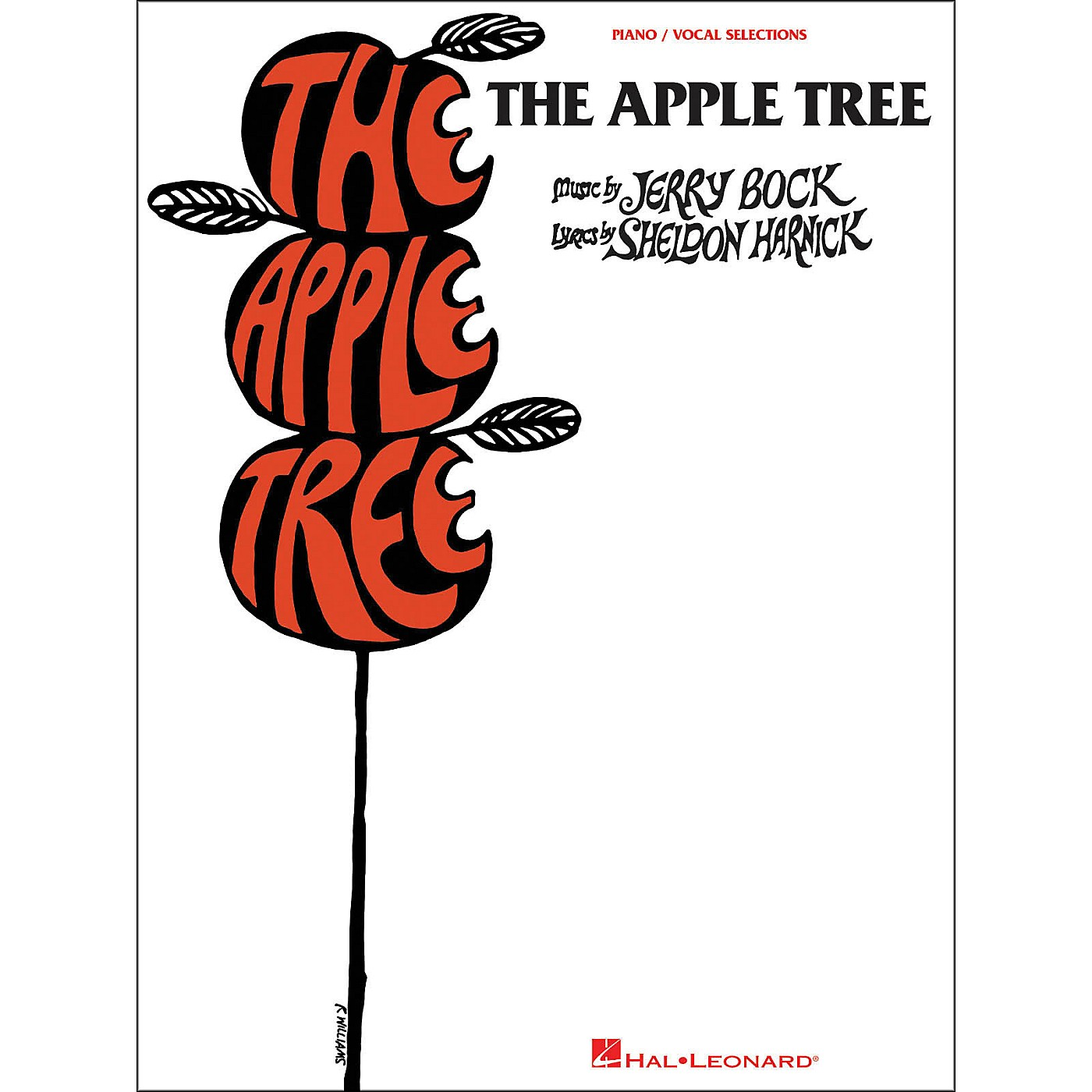 Hal Leonard The Apple Tree arranged for piano, vocal, and guitar (P/V/G) thumbnail