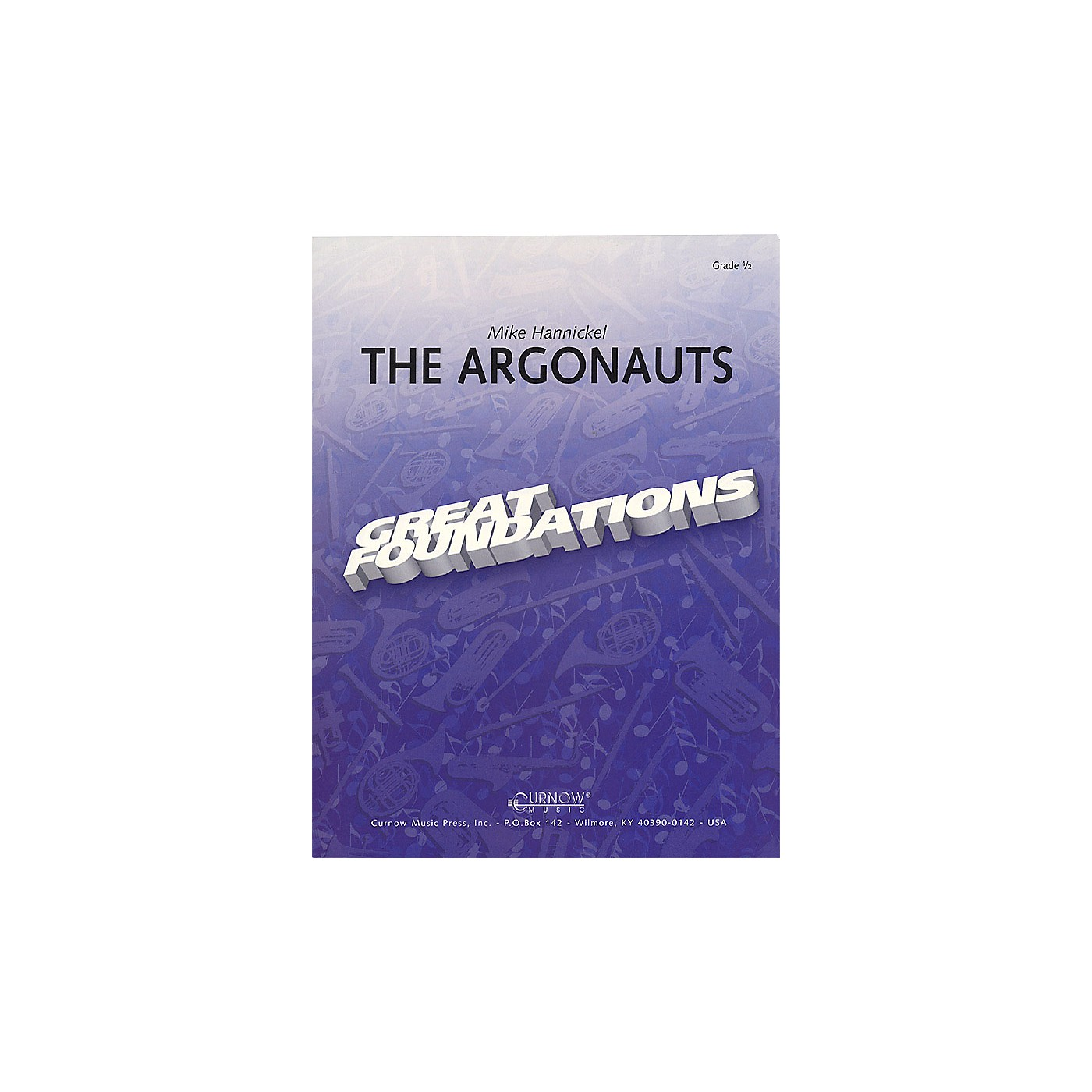 Curnow Music The Argonauts (Grade 1 - Score Only) Concert Band Level 1 Composed by Mike Hannickel thumbnail