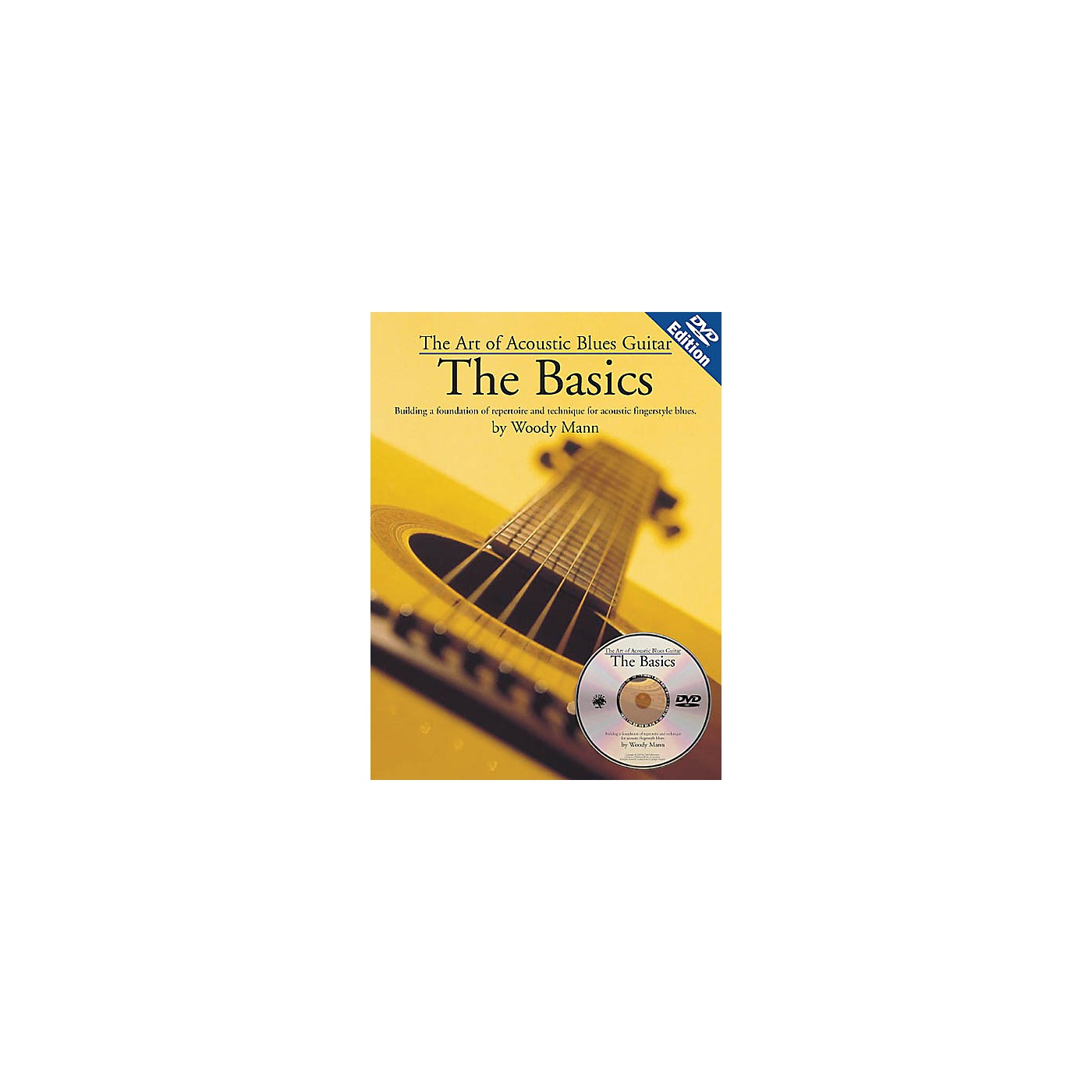 Music Sales The Art of Acoustic Blues Guitar - The Basics Music Sales America Series Softcover with DVD by Woody Mann thumbnail