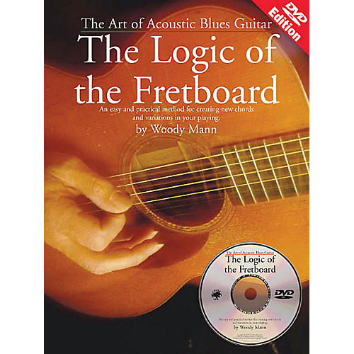 Music Sales The Art of Acoustic Blues Guitar - The Logic of the Fretboard Music Sales America BK/DVD by Woody Mann thumbnail