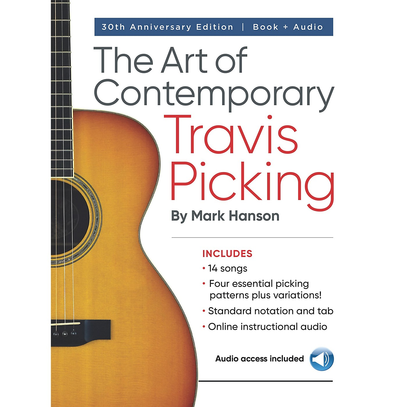 Hal Leonard The Art of Contemporary Travis Picking - Learn the Alternating-Bass Fingerpicking Style Book/Audio Online thumbnail