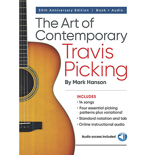 hal leonard the art of contemporary travis picking learn the alternating bass fingerpicking. Black Bedroom Furniture Sets. Home Design Ideas