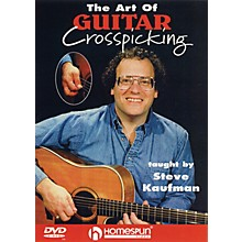 Homespun The Art of Guitar Crosspicking Instructional/Guitar/DVD Series DVD Performed by Steve Kaufman