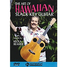 Homespun The Art of Hawaiian Slack Key Guitar Instructional/Guitar/DVD Series DVD Performed by Keola Beamer