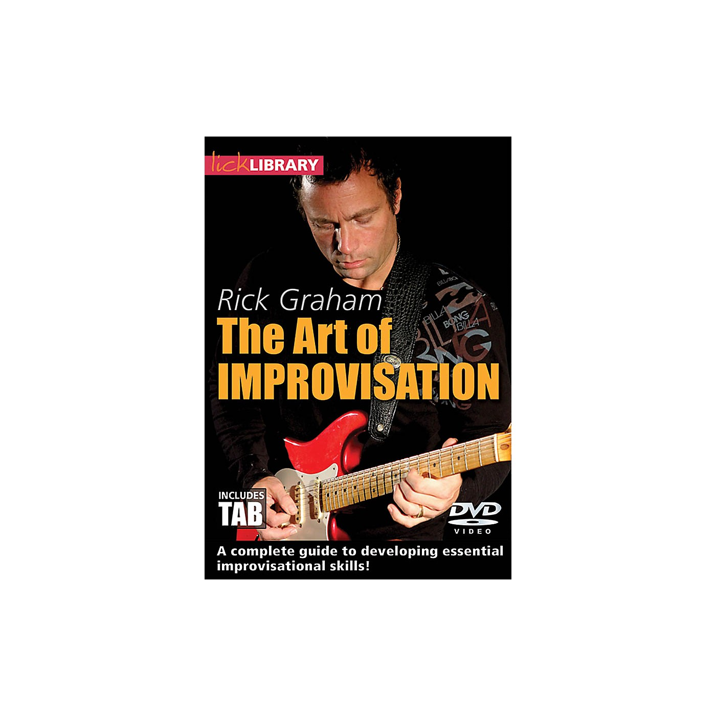 Licklibrary The Art of Improvisation Lick Library Series DVD Written by Rick Graham thumbnail