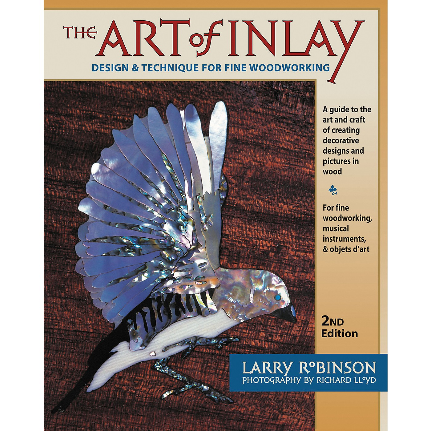 Backbeat Books The Art of Inlay - Revised and Expanded thumbnail