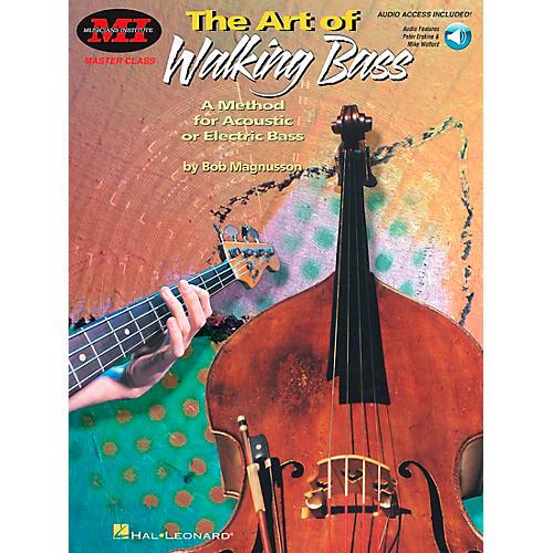 Hal Leonard The Art of Walking Bass Book/Online Audio thumbnail