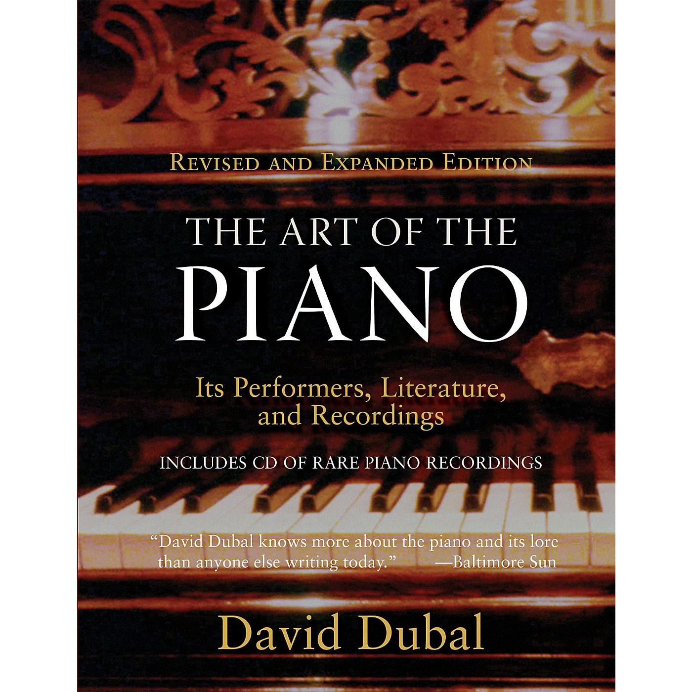 Amadeus Press The Art of the Piano Amadeus Series Softcover with CD Written by David Dubal thumbnail