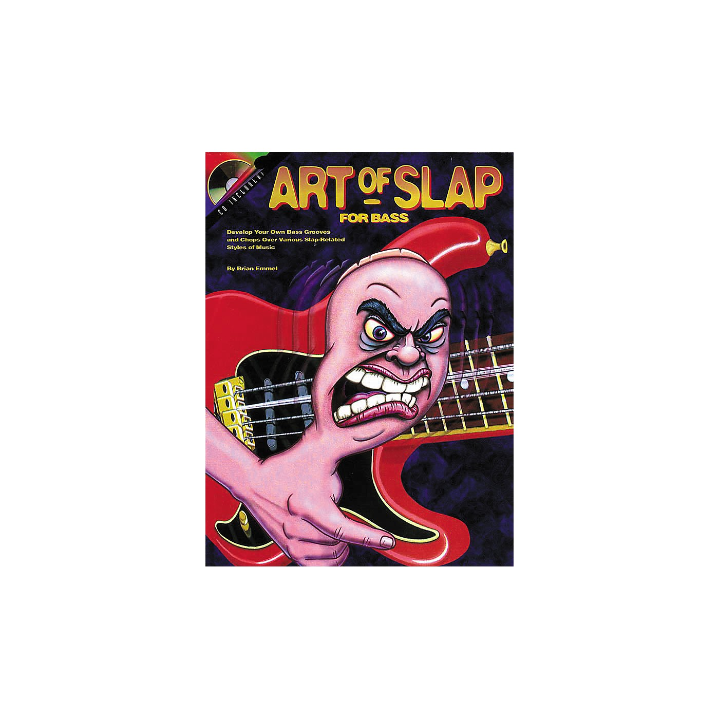 Hal Leonard The Art of the Slap Book/CD thumbnail