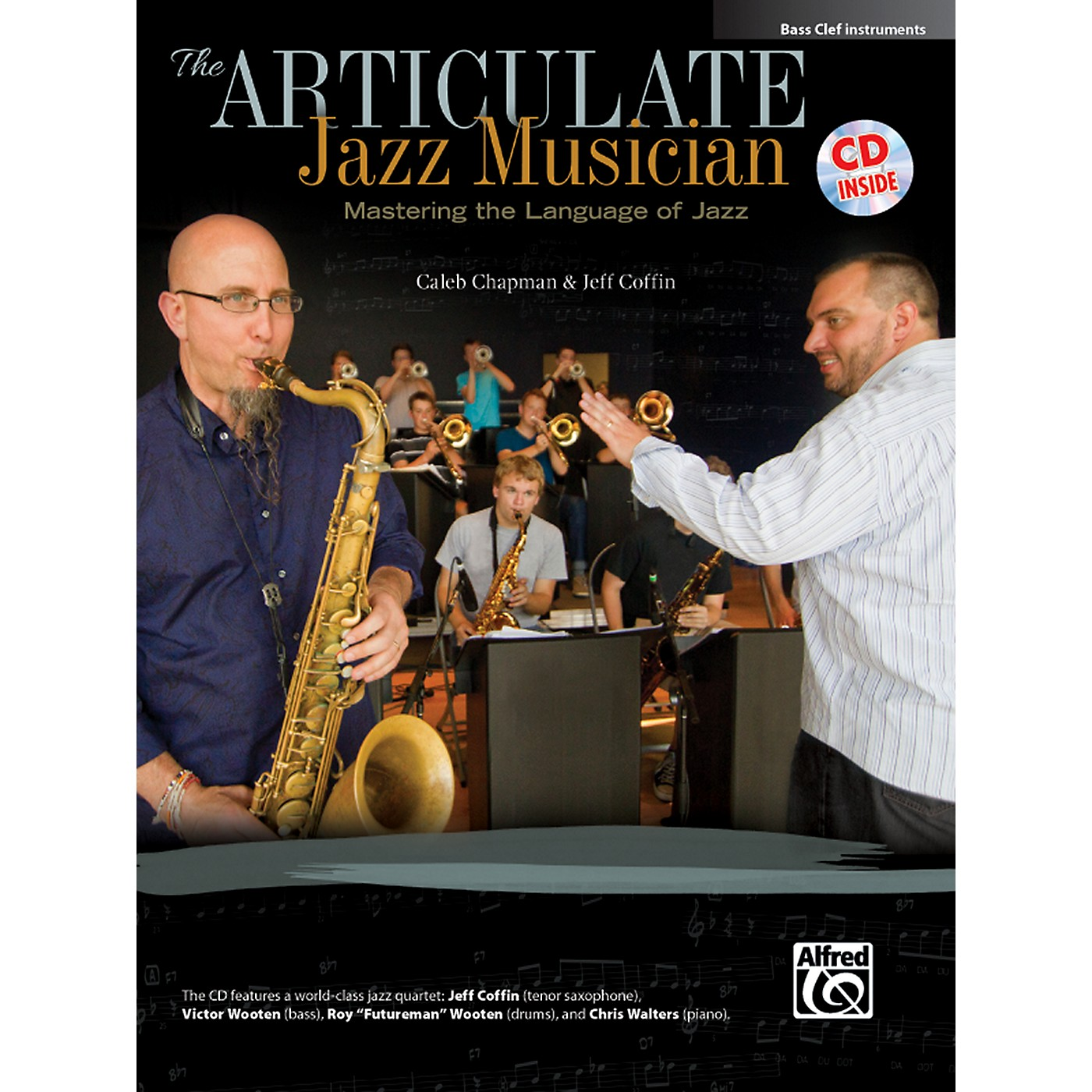 Alfred The Articulate Jazz Musician Bass Clef Instruments Book & CD thumbnail