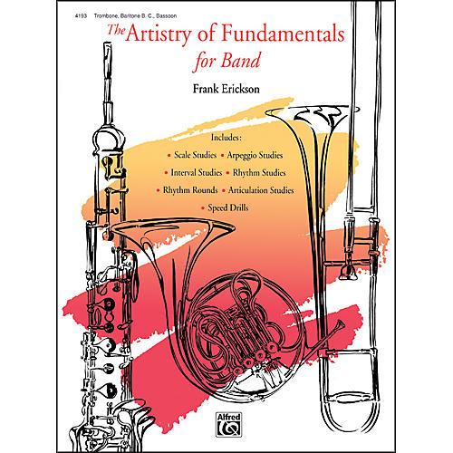 Alfred The Artistry of Fundamentals for Band Trombone/Baritone B.C./Bassoon thumbnail