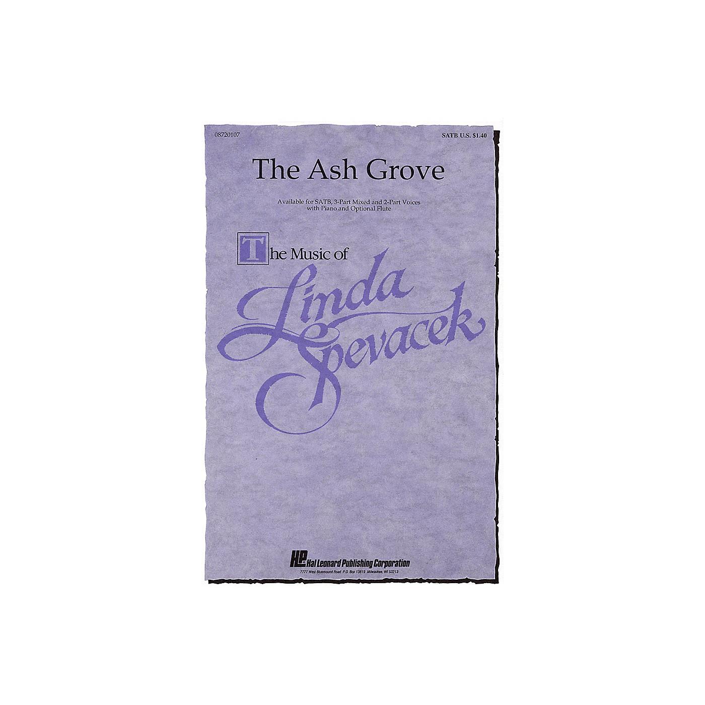 Hal Leonard The Ash Grove 2-Part Arranged by Linda Spevacek thumbnail