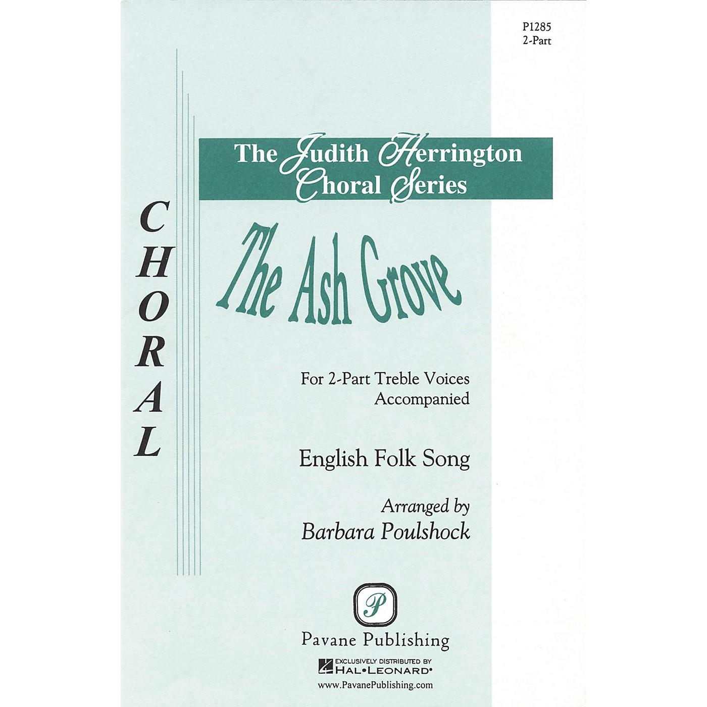 Pavane The Ash Grove 2-Part arranged by Barbara Poulshock thumbnail