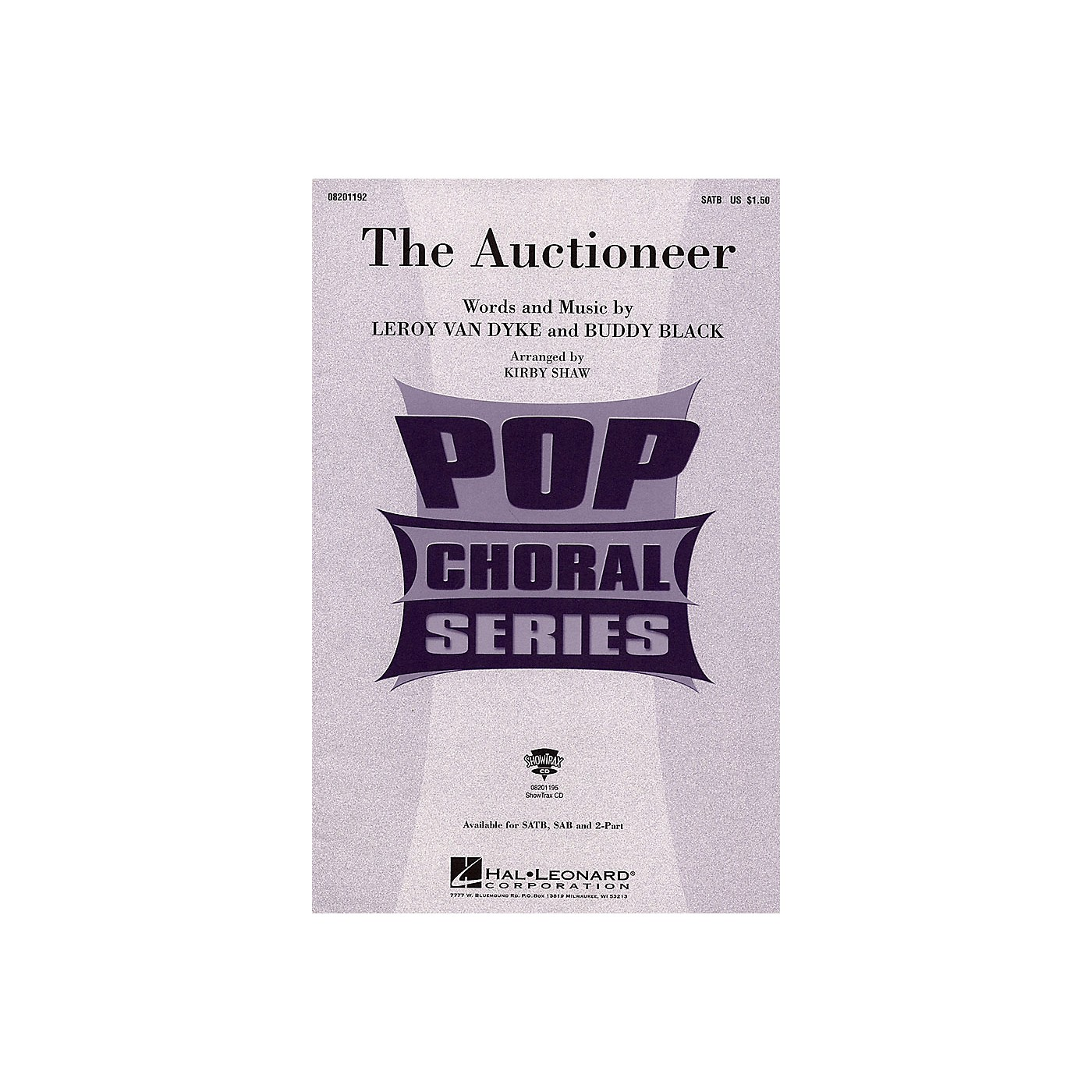 Hal Leonard The Auctioneer SAB Arranged by Kirby Shaw thumbnail