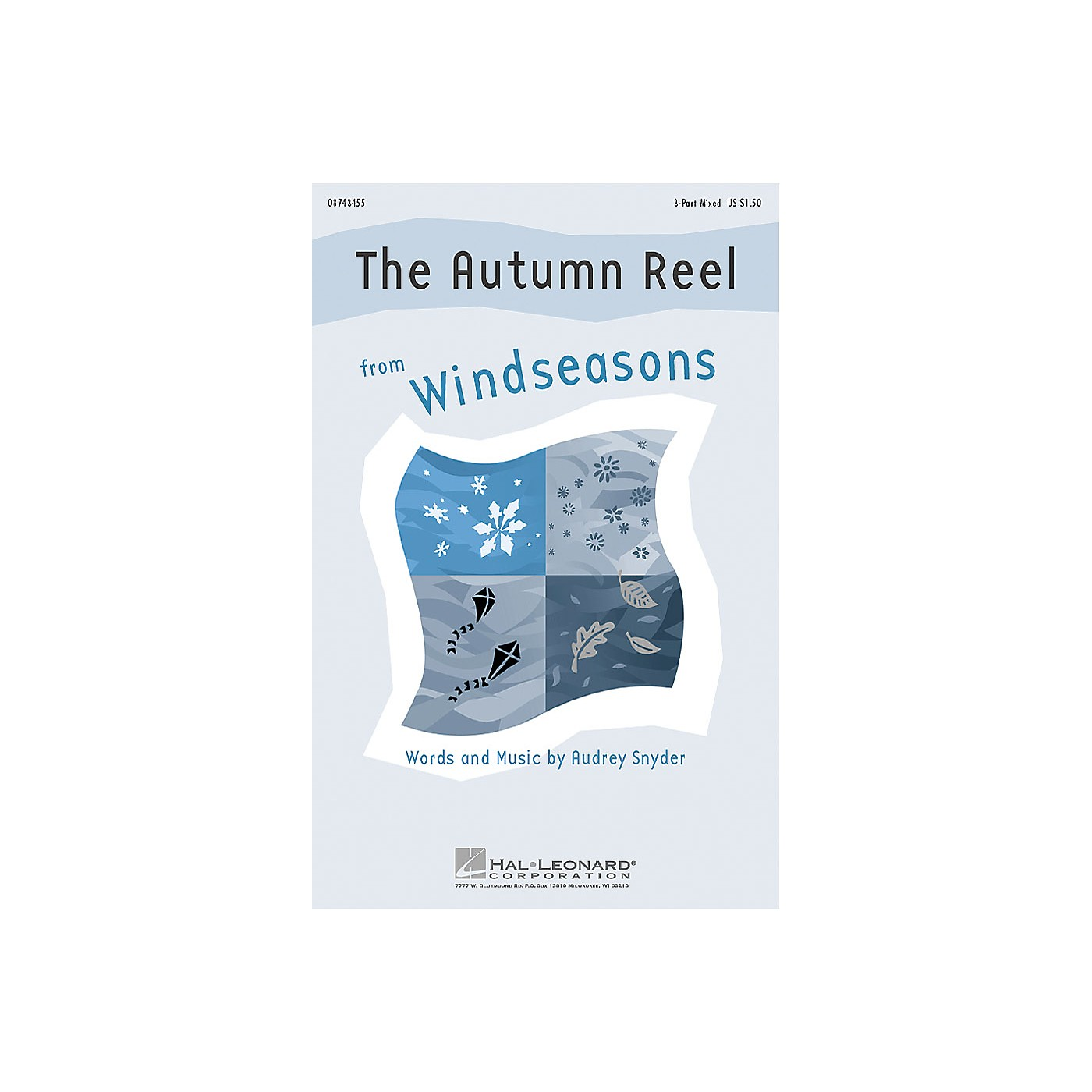 Hal Leonard The Autumn Reel (from Windseasons) 3-Part Mixed composed by Audrey Snyder thumbnail