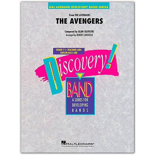 Hal Leonard The Avengers Concert Band Level 1.5 Arranged by Robert Longfield thumbnail