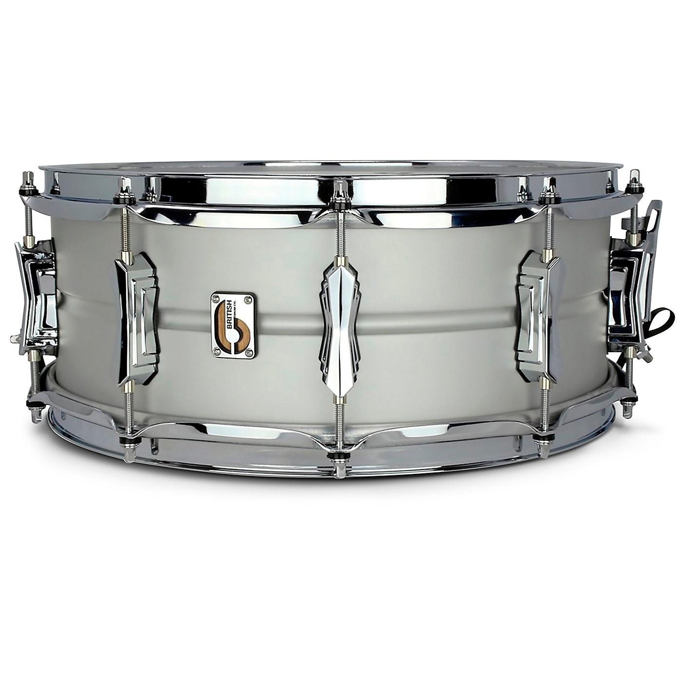 British Drum Co. The Aviator Aluminum Snare Drum thumbnail