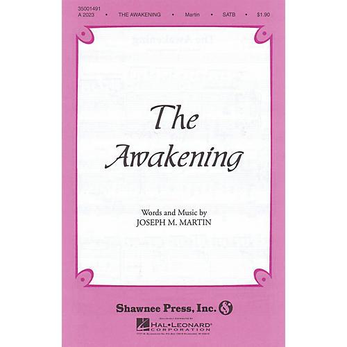 Shawnee Press The Awakening TTBB Composed by Joseph M. Martin thumbnail