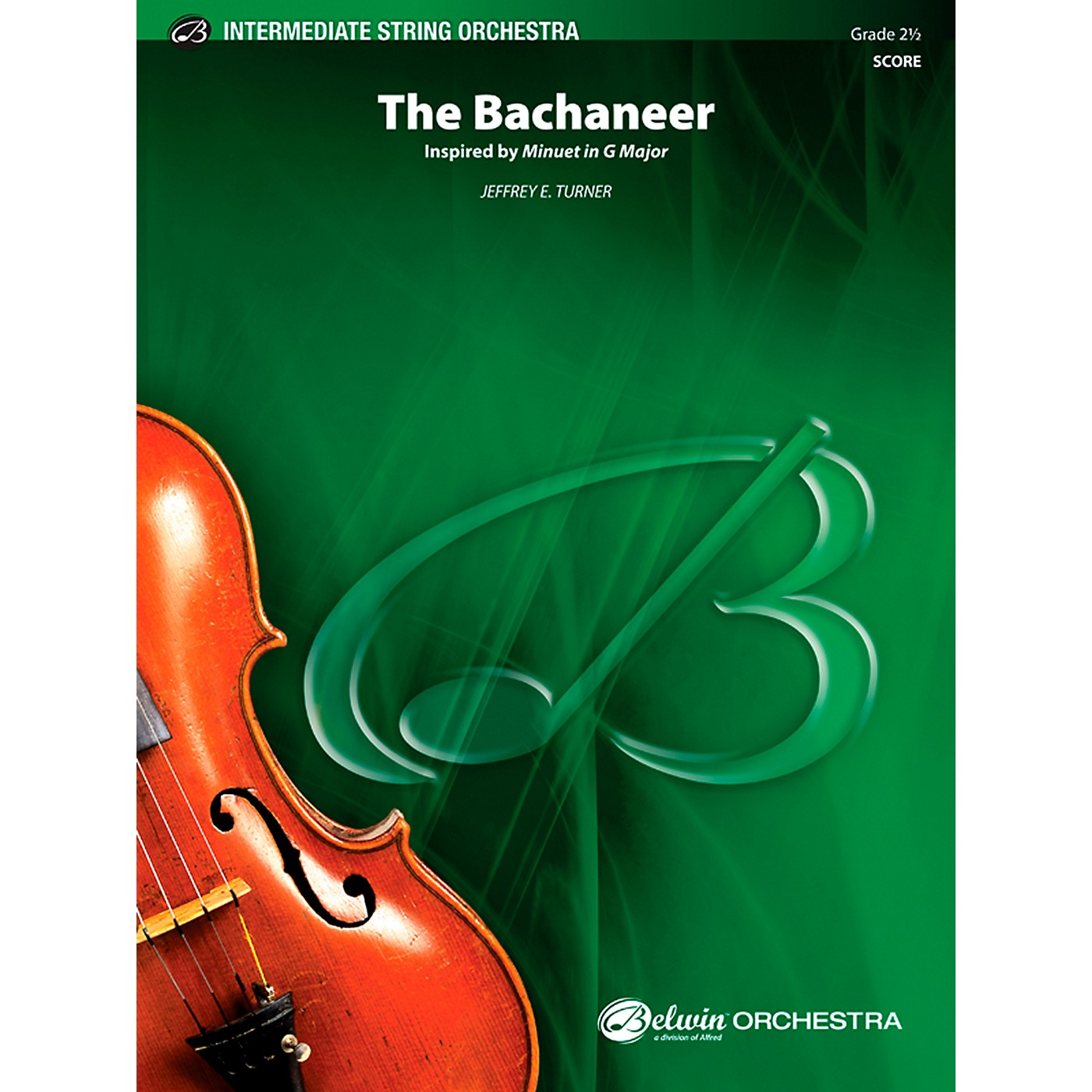 Alfred The Bachaneer String Orchestra Grade 2.5 Set thumbnail
