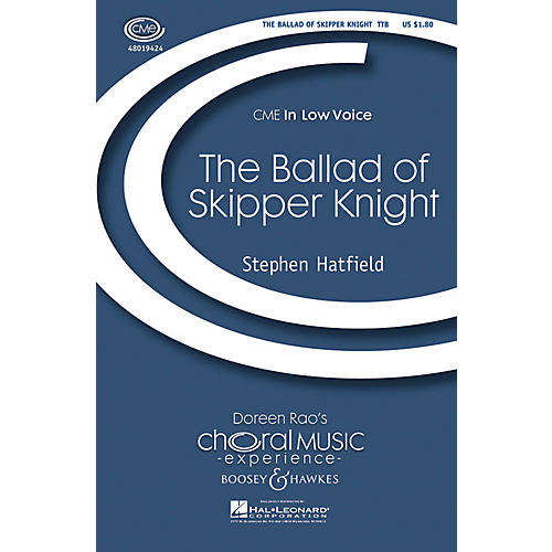 Boosey and Hawkes The Ballad of Skipper Knight TTB composed by Stephen Hatfield thumbnail