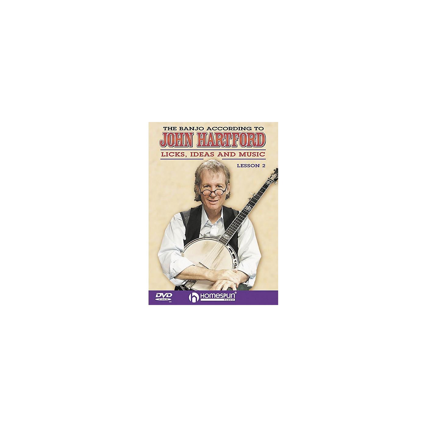Homespun The Banjo According to John Hartford 2 (DVD) thumbnail