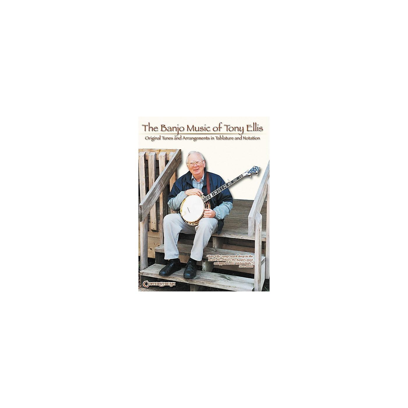 Centerstream Publishing The Banjo Music of Tony Ellis Book thumbnail