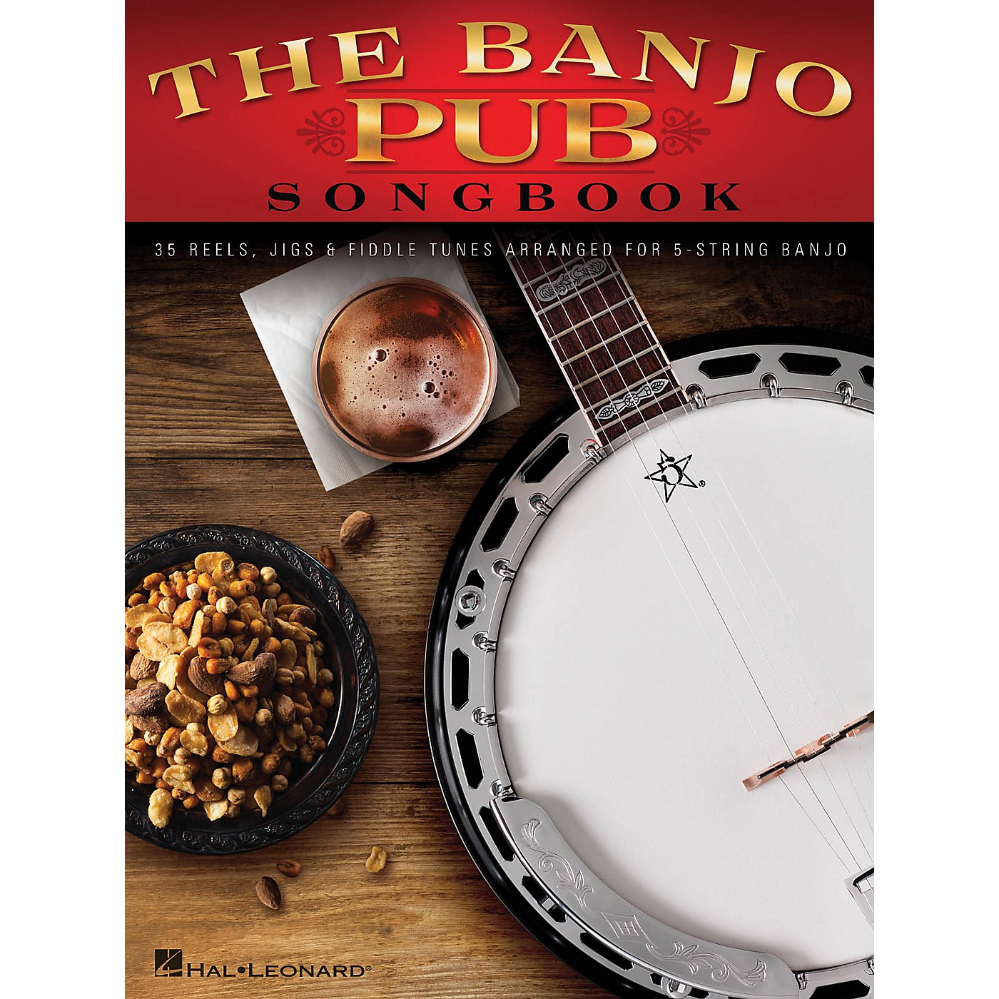 Hal Leonard The Banjo Pub Songbook (35 Reels, Jigs & Fiddle Tunes Arranged for 5-String Banjo) Banjo Series Softcover thumbnail