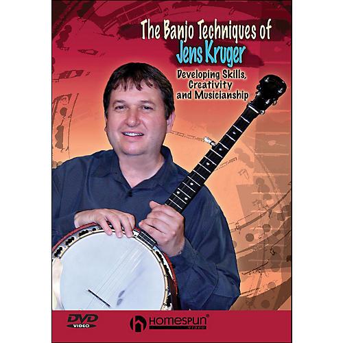 Homespun The Banjo Techniques Of Jens Kruger (DVD)-thumbnail