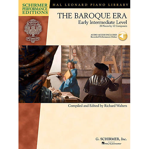 G. Schirmer The Baroque Era - Early Intermediate Level Schirmer Performance Editions Book Online Audio Access thumbnail