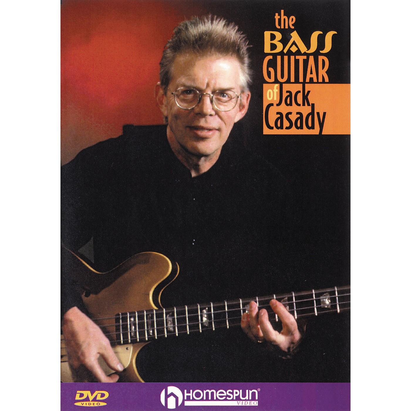 Homespun The Bass Guitar of Jack Casady (DVD) thumbnail
