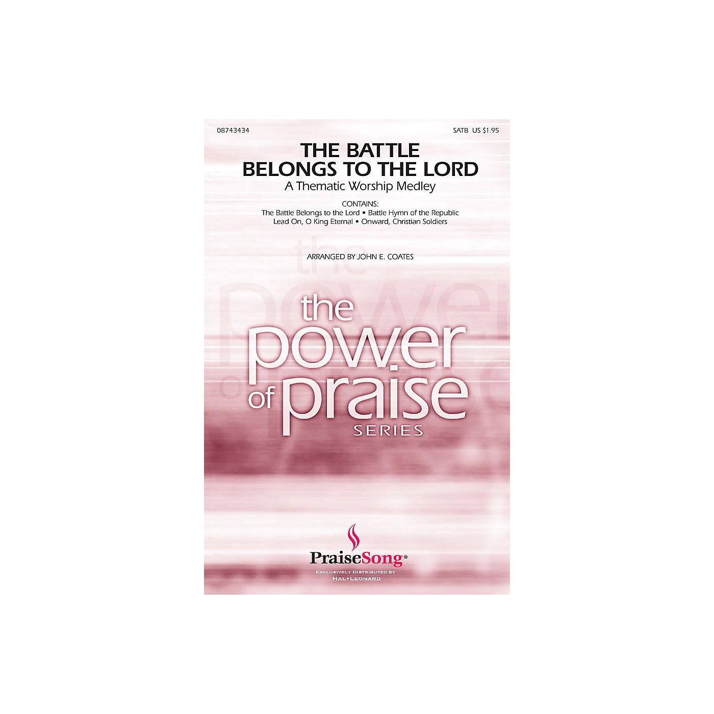 Hal Leonard The Battle Belongs to the Lord (Worship Medley) CHOIRTRAX CD Arranged by John E. Coates thumbnail