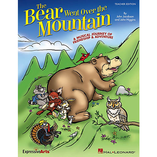Hal Leonard The Bear Went Over the Mountain Performance/Accompaniment CD Composed by John Higgins thumbnail