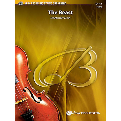 Alfred The Beast String Orchestra Grade 1 Set thumbnail