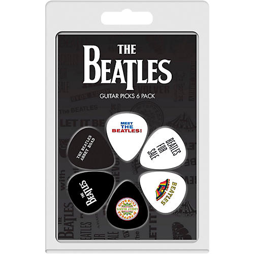 Perri's The Beatles - 6-Pack Guitar Picks-thumbnail