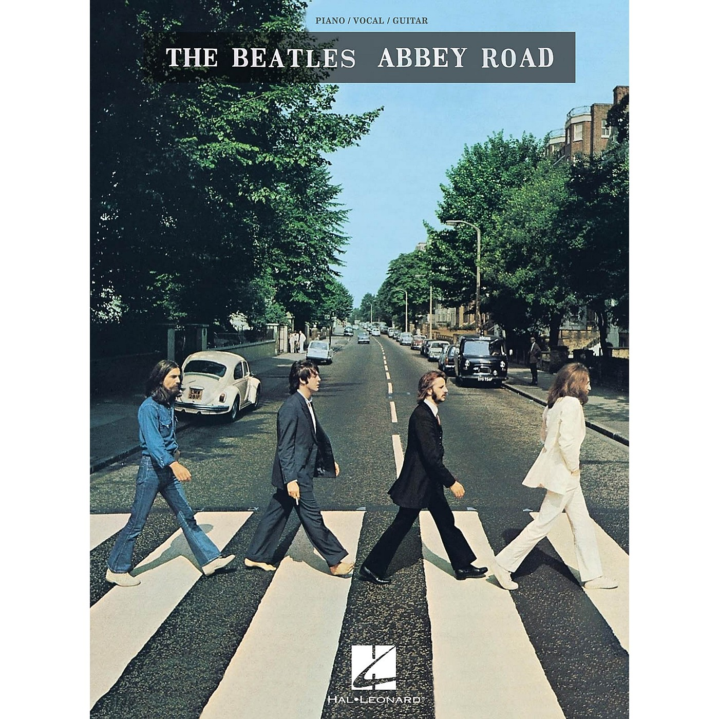 Hal Leonard The Beatles - Abbey Road Piano/Vocal/Guitar Songbook thumbnail