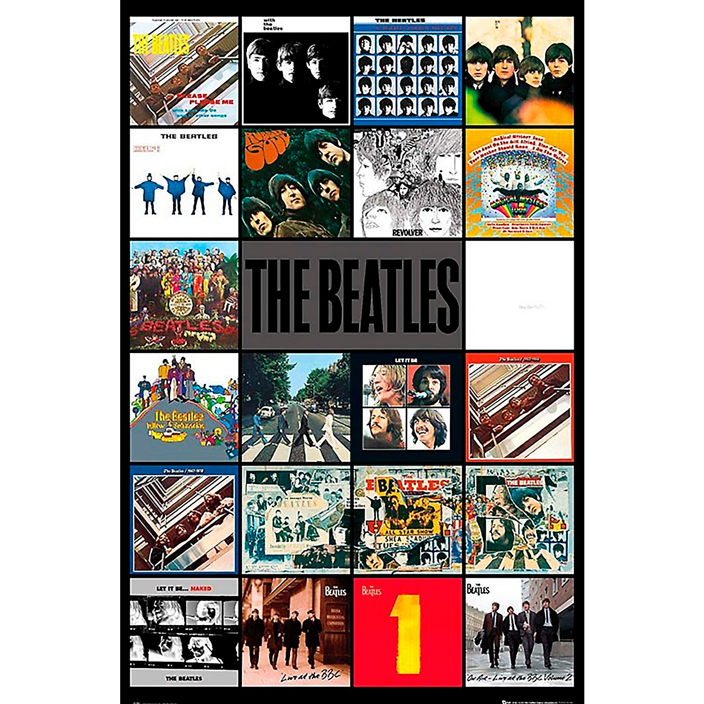 Trends International The Beatles - Album Covers Poster thumbnail