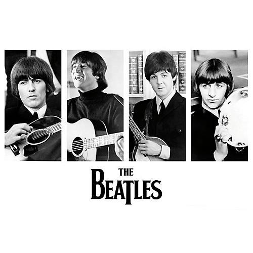 Hal Leonard The Beatles - Early Portraits - Wall Poster thumbnail