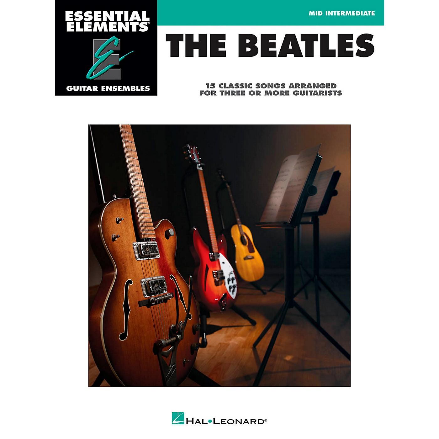 Hal Leonard The Beatles - Essential Elements Guitar Ensembles Series thumbnail