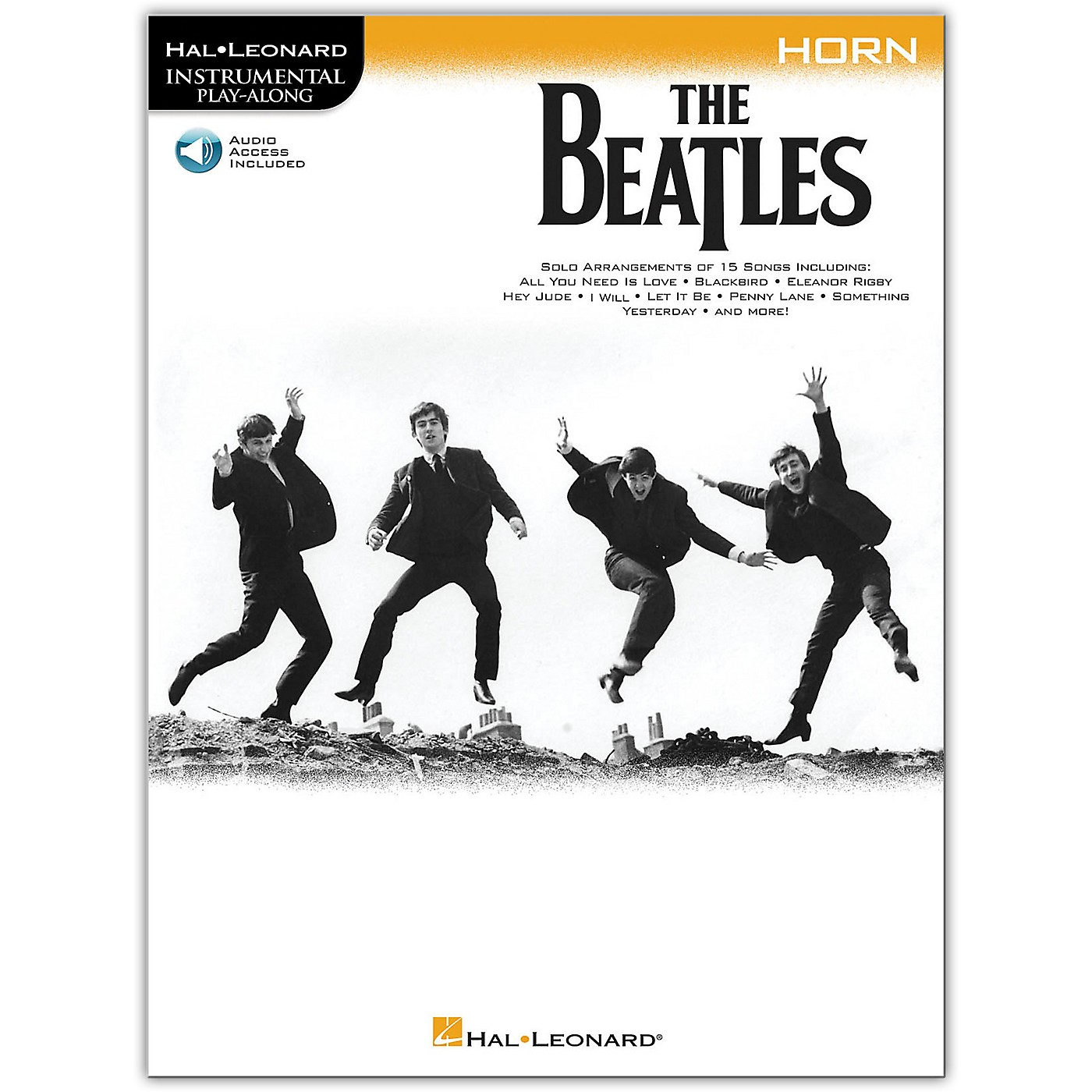 Hal Leonard The Beatles - Instrumental Play-Along Series Horn Book/Audio Online thumbnail